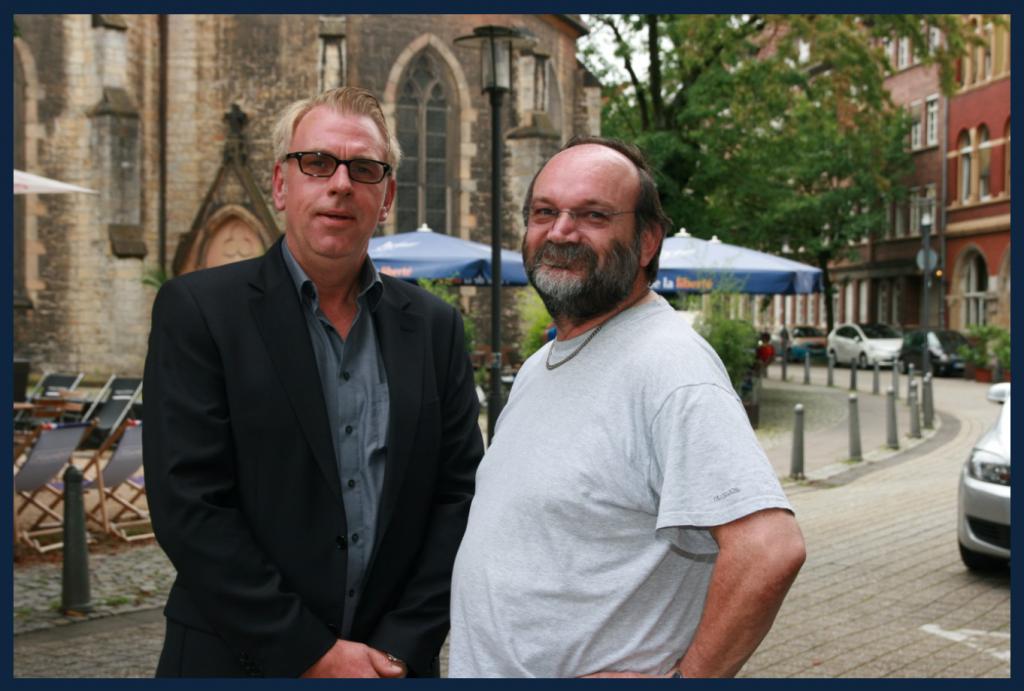 Stefan Huxohl mit K.Kutzner aus Bielefeld. (August 2014)